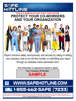 About Safe Hotline Ethics Reporting Services