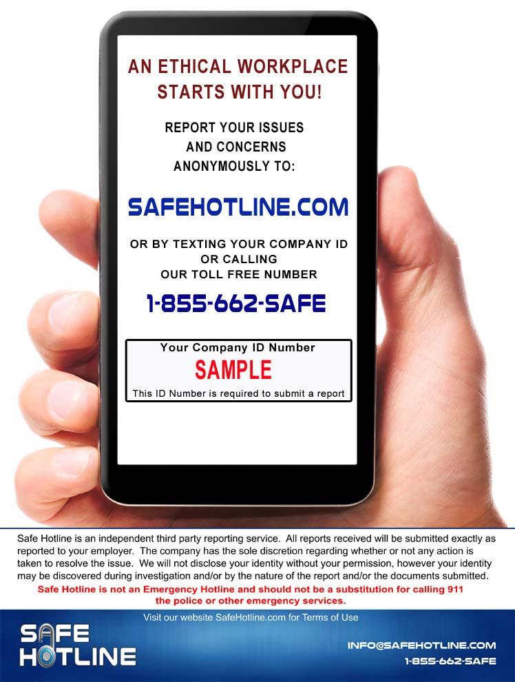 Safe hotline reviews